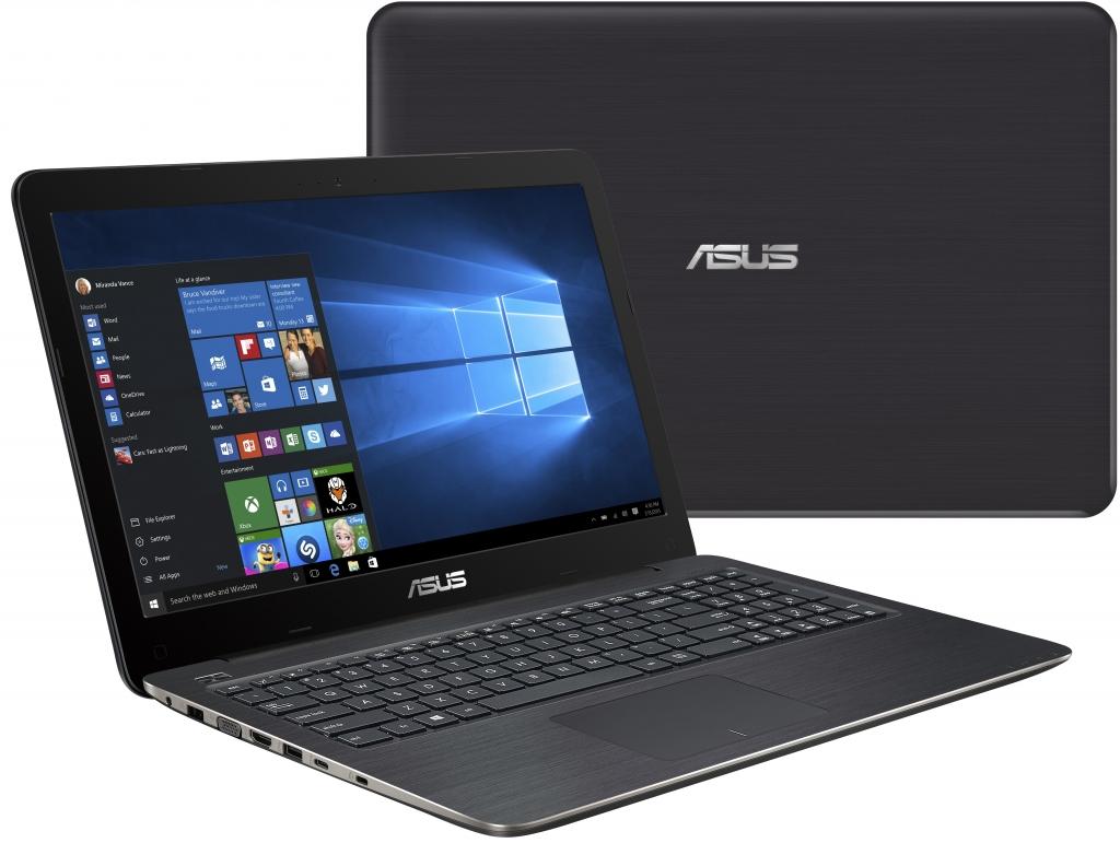Černý notebook Asus F556UB