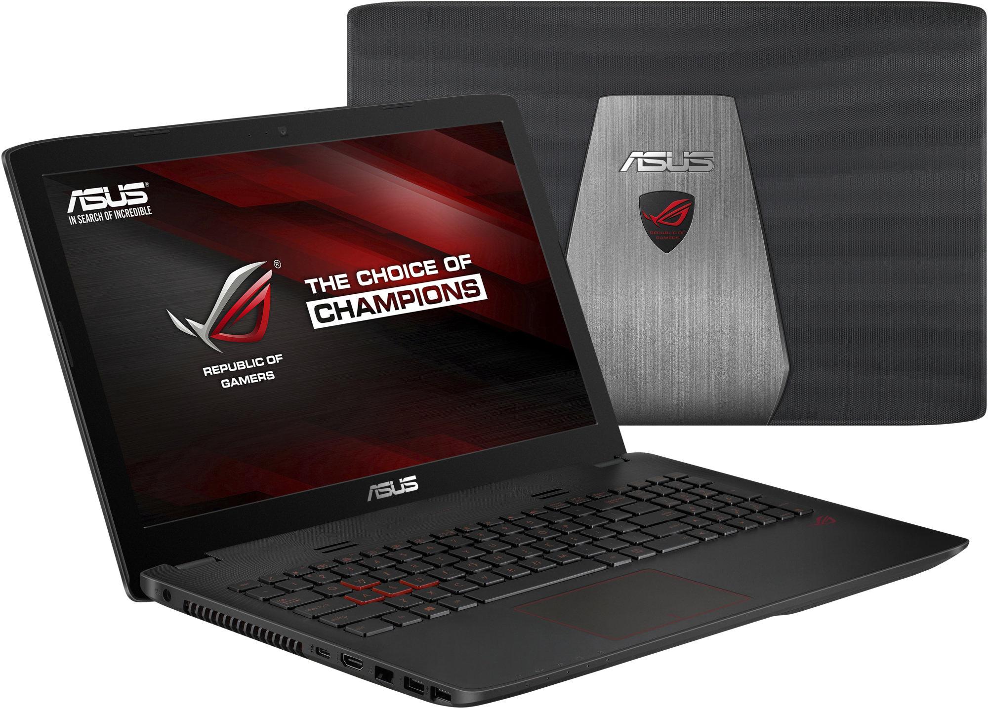 Asus GL552VX - víko notebooku