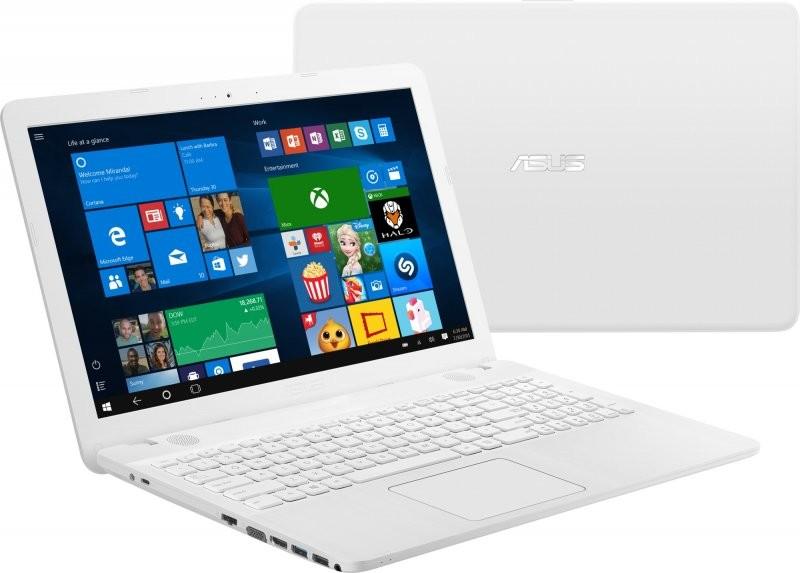 Elegantní bílé provedení notebooku Asus R541SA