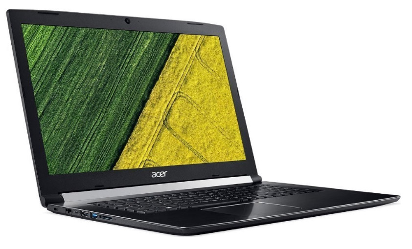Levá strana notebooku Acer Aspire 5