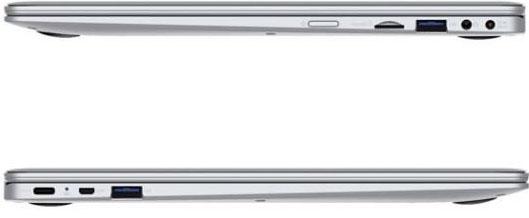 Pravá a levá strana notebooku Umax VisionBook 13Wa Flex